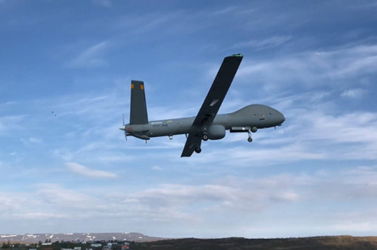 Armenian air forces hit Azerbaijani UAV (video)