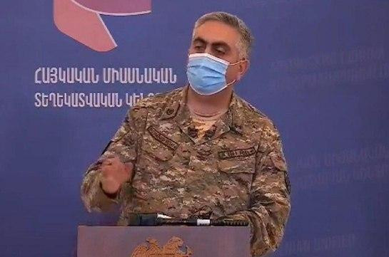 Մինչև այսօր խոցվել է ադրբեջանական մոտ 10 ԱԹՍ․ Արծրուն Հովհաննիսյան