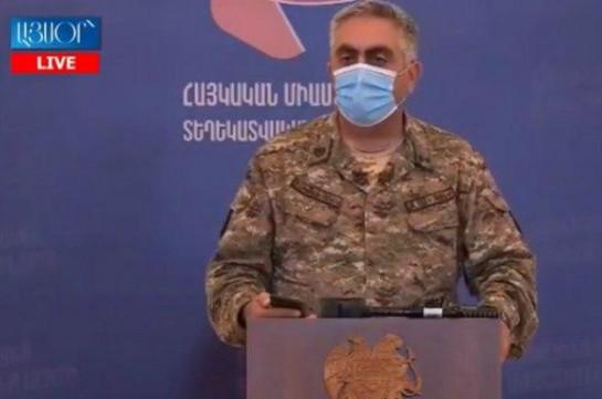 Adversary used Grad weapon system on Armenian-Azerbaijani border: Artsrun Hovhannisyan