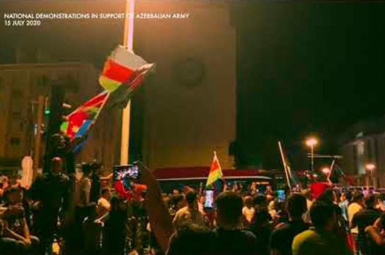 Активисты ворвались в здание парламента в Баку (Видео)