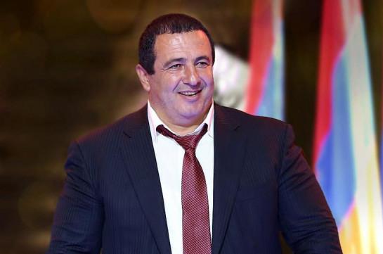 Leader of PAP Gagik Tsarukyan tests negative
