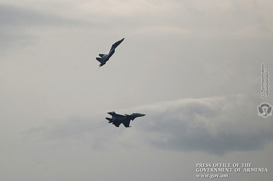 Armenia's government: SU-30 SM fighter jets are on alert (video)