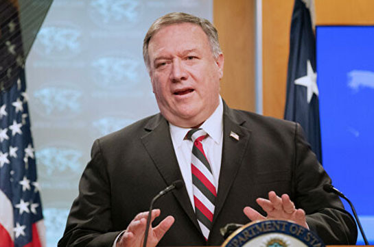 Mike Pompeo: USA urges Armenia and Azerbaijan to immediately deescalate situation, resume peace talks