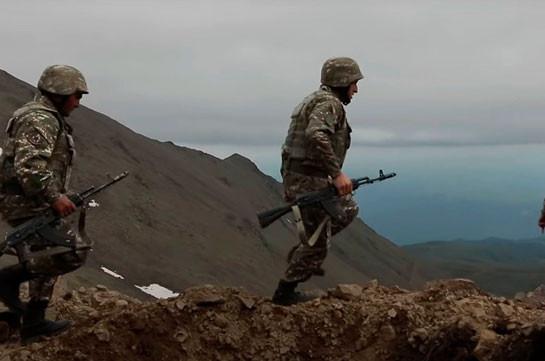 Operative situation on Armenian-Azerbaijani border continues to be calm