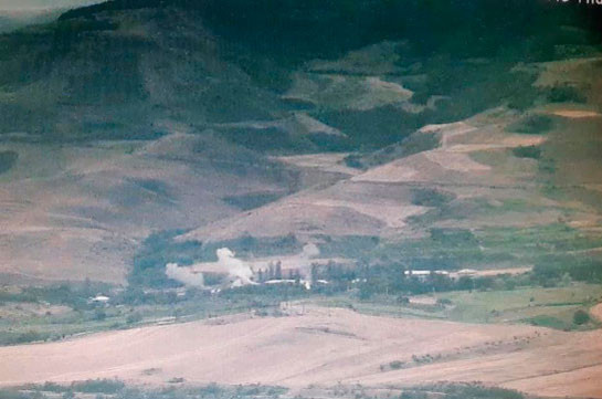 Armenian side reports no casualties during activities unleashed by Azerbaijani side today