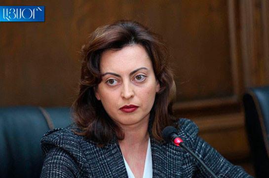 Կոչ եմ արել մեր գործընկերներին խստորեն դատապարտել ՀՀ պետական սահմանում Ադրբեջանի զինված ուժերի սադրիչ գործողությունները․ Լենա Նազարյան