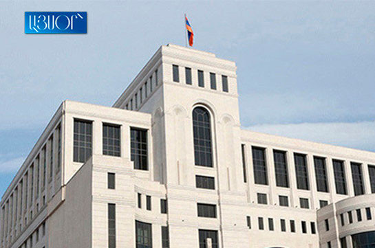 Armenia's MFA: Azerbaijan's leadership to bear responsibility also before its own people for its perilous, ill-conceived steps