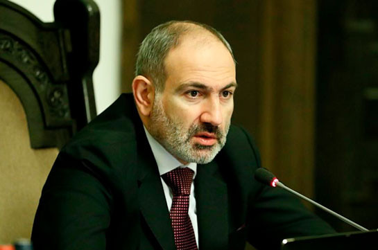 Armenia's PM to leave for Belarus today