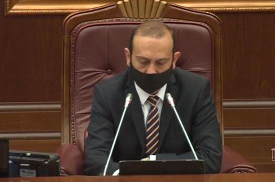 Арарат Мирзоян: Действия Азербайджана – явное, вопиющее нарушение всех международных конвенций