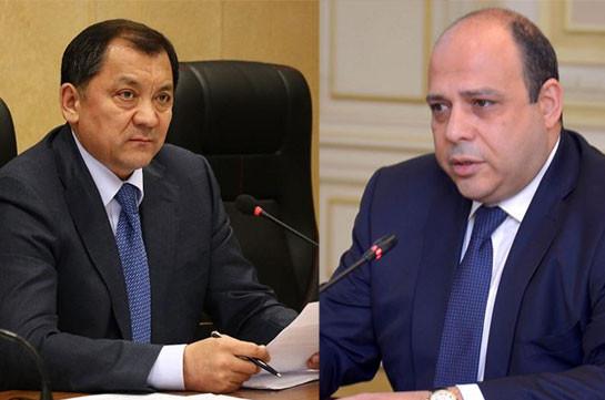 Армения и Казахстан подписали соглашение о торгово-экономическом сотрудничестве в сфере поставок нефтепродуктов