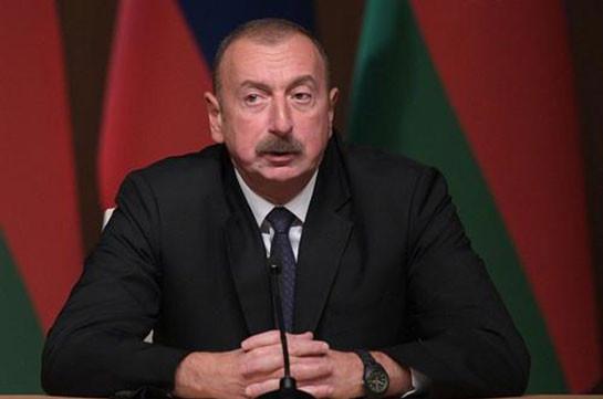 Алиев заявил, что готов к предметным переговорам с Арменией на сформированной в прежние годы базе