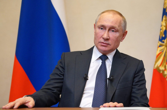 Russia's president discusses situation on Armenian-Azerbajani border with RF Security Council permanent members