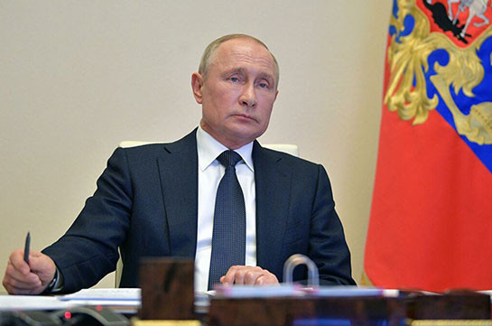 Russia's president says situation on Armenia-Azerbaijan border very sensitive for Russia