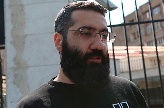 Co-founder of Adekvad unity Artur Danielyan charged