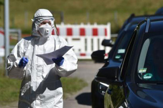 Coronavirus: German officials 'very concerned' by rising cases