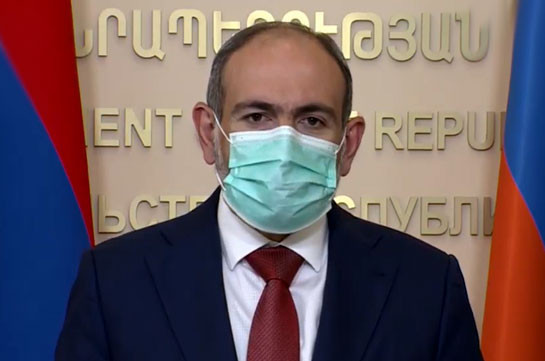 Armenia's PM urges to comply with epidemiological rules for speaking about coronavirus in past tense