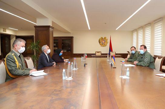 Դավիթ Տոնոյանն ու Իրանի դեսպանը կարծիքներ են փոխանակել թուրք-ադրբեջանական համատեղ զորավարժությունների բնույթի վերաբերյալ