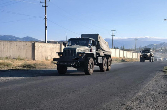 Armenia's Armed Forces go on high alert in snap combat readiness check