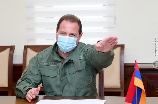 Мы тоже ждем приказа, но действия в Тавуше доказали за очень короткое время, что  противник не добился успеха – Давид Тоноян