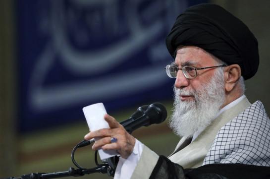 Խամենեին ԱՄՆ-ի պատժամիջոցները որակել է հանցագործություն Իսլամական Հանրապետության դեմ