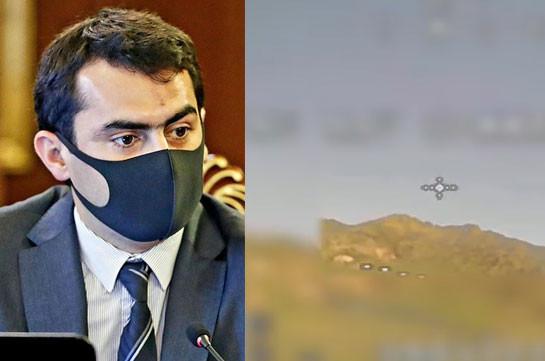 Ударные БПЛА армянского производства в действии (Видео)
