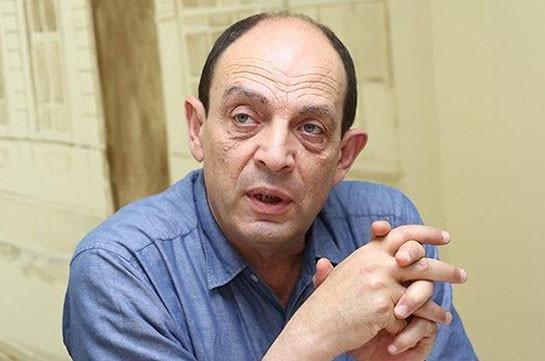 У меня создается впечатление, что в Армении какие-то чужие силы кричат «Мы хозяева вашей страны» – Аветик Ишханян