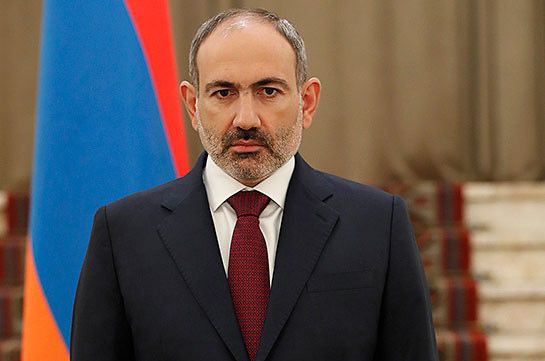 Armenian PM says he is shocked by the deadly blast in fraternal Lebanon