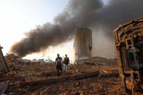 Armenia's MFA reports about six Armenians killed in Beirut blast