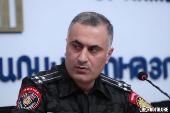 Президент Армении получил предложение об освобождении Айка Мгряна от должности замначальника полиции