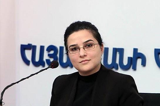 Жизни армянских миротворцев ничто не угрожает – Анна Нагдалян