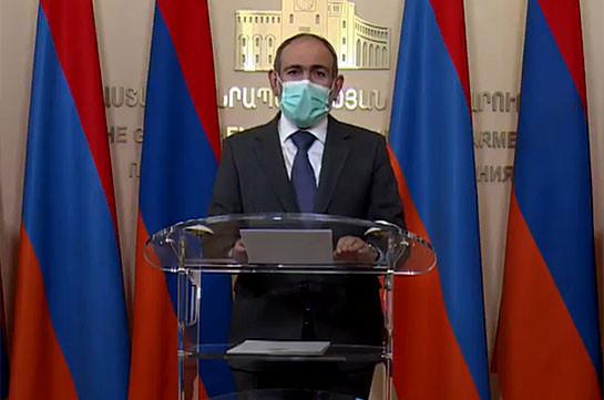 Armenia's PM: Coronavirus situation in Armenia continues to improve