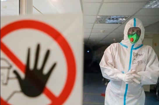 В России скончались ещё 70 пациентов с коронавирусом