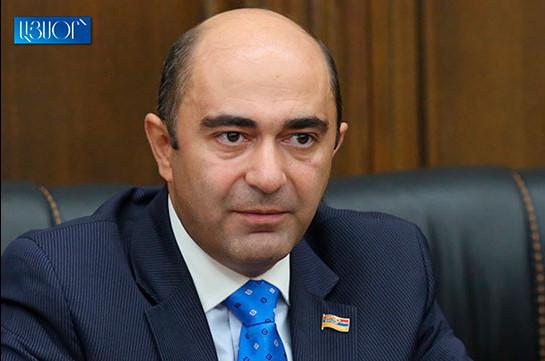 Эдмон Марукян обратился к премьер-министру по вопросу пенсий граждан, которые не могут вернуться в Армению