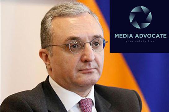 Negative articles were published on Zohrab Mnatsakanyan: Media Advocate