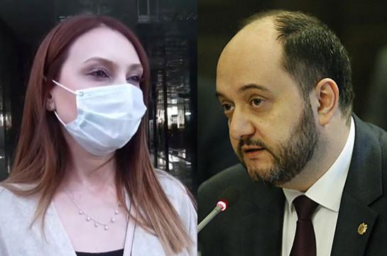 Встреча Араика Арутюняна с депутатами фракции «Мой шаг» не состоялась