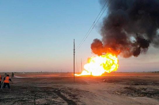 В Дамаске квалифицировали взрыв на газопроводе как теракт