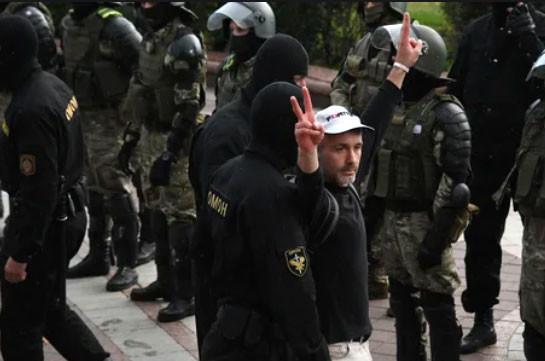 В Минске 27 августа полиция задержала 261 протестующего