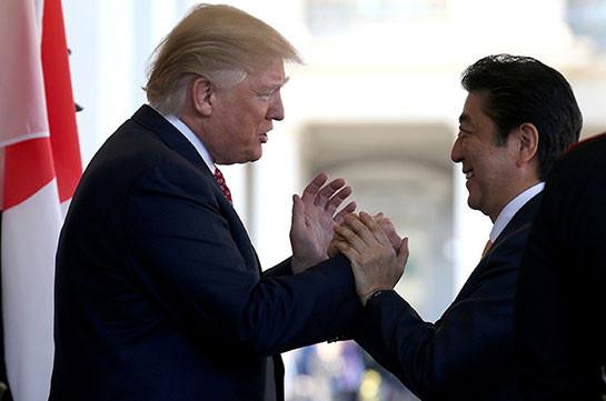 Трамп заявил, что огорчен уходом Абэ с поста премьера Японии