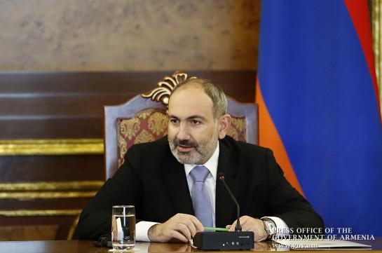 Никол Пашинян с 31 августа по 4 сентября будет находиться в отпуске