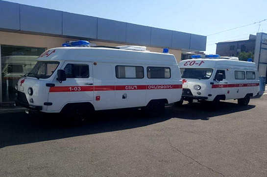21 UAZ SUV ambulance cars to be donated to regional medical centers