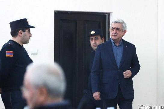 Պաշտպանները միջնորդեցին կալանքից ազատել ՀՀ երրորդ նախագահ Սերժ Սարգսյանի գույքը