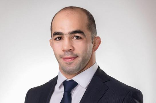 Wrestler Armen Julfalakyan puts down his mandate