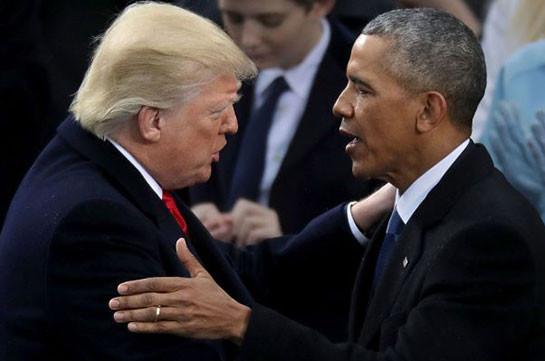 Трамп назвал Нобелевскую премию Обамы незаслуженной