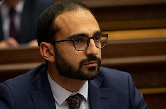 Armenia's deputy PM goes on vacation