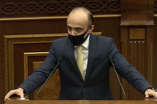 Фракция «Светлая Армения» не примет участия в выборах судьи КС