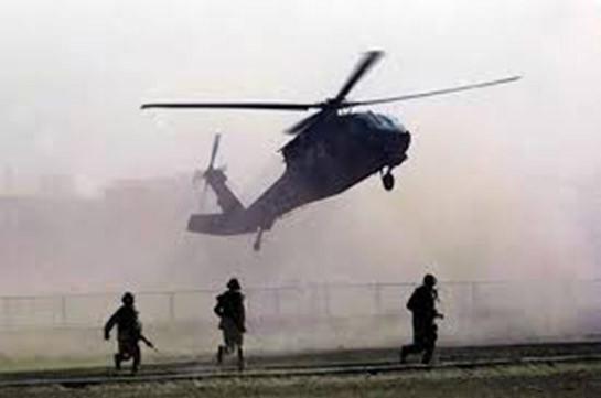 Американский военный вертолет разбился в Сирии