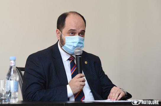 Попрошу наших коллег не пугать меня отставкой – Араик Арутюнян