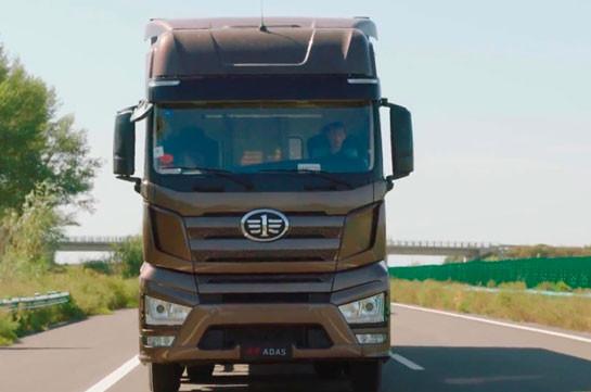 В Китае перевернувшийся грузовик раздавил восемь человек