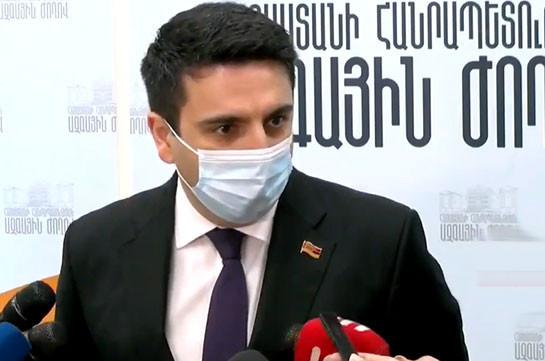 У премьер-министра нет конфликта с какой-либо политической силой – Ален Симонян
