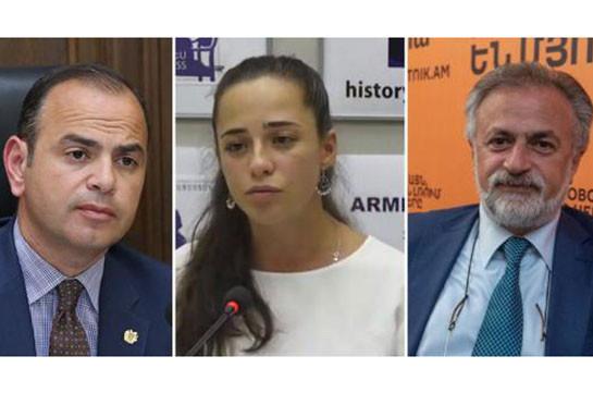 «Голос Армении»: Кадровая колода Пашиняна. Экспаты во власти: чикагские, орловские и глендейлские мальчики и одна копенгагенская девочка